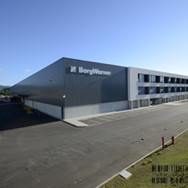 Industrial unit exterior view - Borg Warner - INDUSTRIAL - Multiprojectus