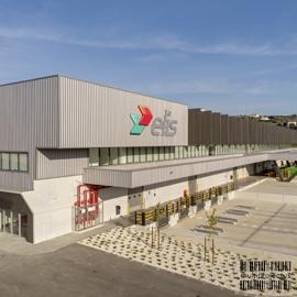 Vista exterior de unidade industrial - Elis TV - INDUSTRIAL - Multiprojectus