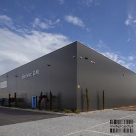 Vista exterior de unidade industrial - Eurosap - INDUSTRIAL - Multiprojectus