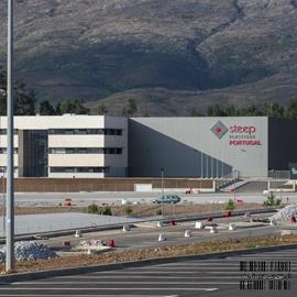 Vista exterior de unidade industrial - Steep - CONSTRUÇÃO INDUSTRIAL - Multiprojectus